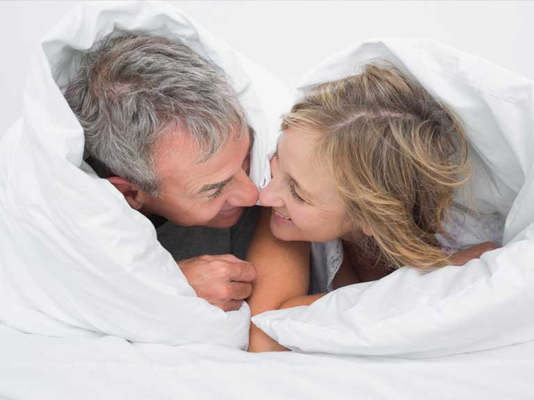 Quelles sont les positions sexuelles pour les seniors ?