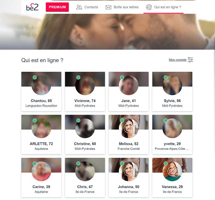Les profils connectés Be2